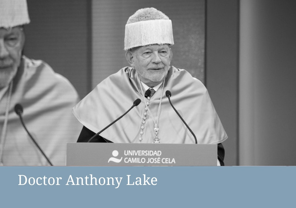 honoris causa Anthony Lake