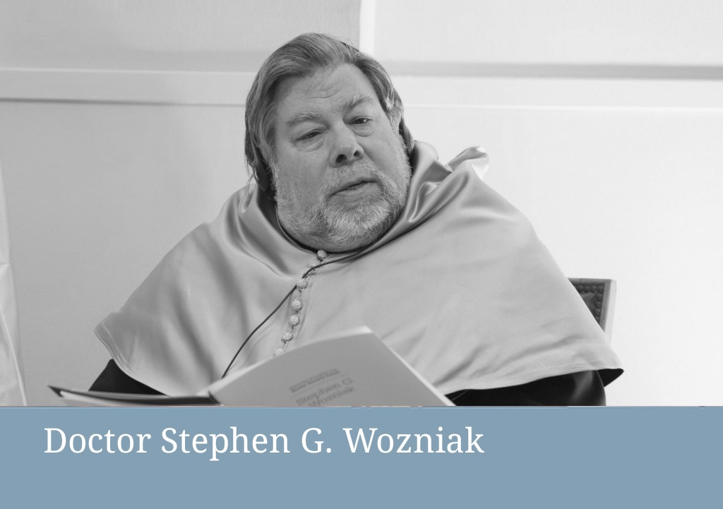 honoris causa Stephen Wozniak